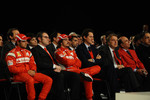Felipe Massa, Stefano Domenicali, Fernando Alonso, John Elkann, Luca di Montezemolo, Emilio Botin