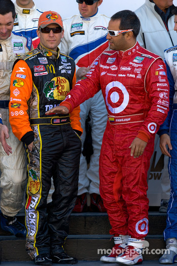 Rolex 24 At Daytona Champions photo: Jamie McMurray and Juan Pablo Montoya