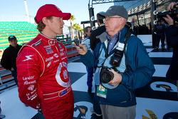 Rolex 24 At Daytona Champions photo: Scott Dixon interviewed by Motorsport.com's Joe Jennings