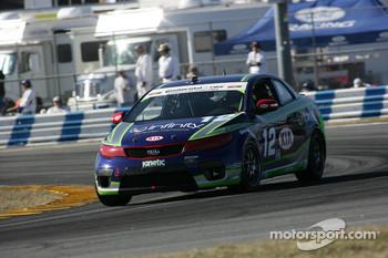 #12 Kinetic Motorsports KIA Forte Koup: Adam Burrows, Trevor Hopwood