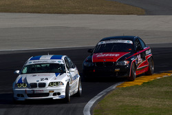 #24 V-Pack Motorsport BMW 330: Ray Mason, Adam Pecorari, #14 Doran Racing BMW 128i: Tim Bell, BJ Zacharias