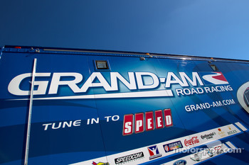 Grand-Am Rolex Series transporter