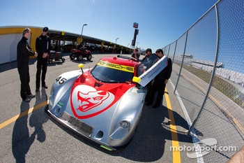 #45 Flying Lizard Motorsports Porsche Riley