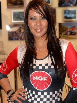 NGK Promo Girl