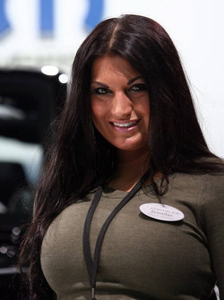 Jeep Stand Girl