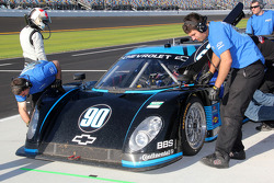 #90 Spirit of Daytona Racing Chevrolet-Coyote: Paul Edwards, Antonio Garcia, Sascha Maassen