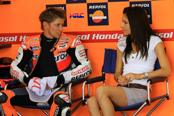 Casey Stoner of Repsol Honda Team