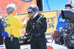 Steve Torrance having restraint equipment removed by Full Throttle official