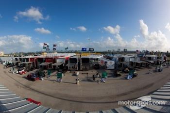 Paddock overview