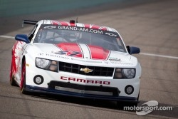 #57 Stevenson Motorsports Camaro GT.R: Robin Liddell, Jan Magnussen