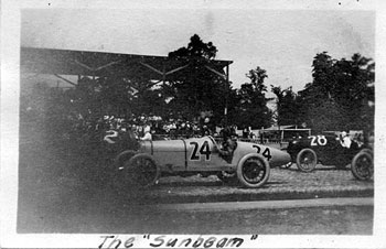 1921 Indy 500 #24 Jimmy Murphy: #2 Tommy Milton, #28 C. W. Van Ranst