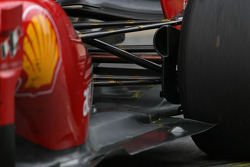 Scuderia Ferrari technical detail, rear suspension