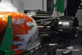 Force India F1 Team, technical detail, rear suspension
