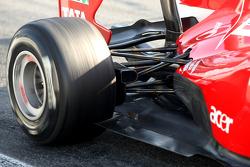 Scuderia Ferrari technical detail, rear suspension