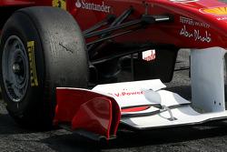 Scuderia Ferrari technical detail, front wing