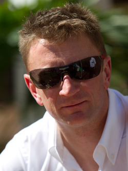 Go Green Auto Rally event in Miami: Allan McNish