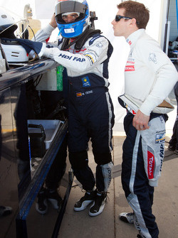 Marc Gene and Anthony Davidson