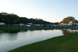 The water at Amelia Island Concours d'Elegance