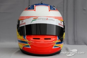 Helmet of Paul di Resta, Force India F1 Team