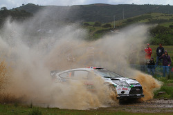 Mads Ostberg and Jonas Andersson, Ford Fiesta RS WRC, M-Sport Stobart Ford World Rally Team