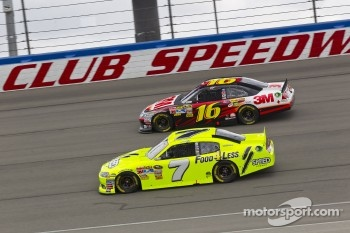 Greg Biffle, Roush Fenway Racing Ford and Robby Gordon