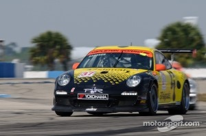 David Heinemeier Hansson, IMSA GT3 Cup event at Sebring, 2011