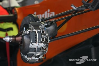 Force India F1 Team, Technical detail, brake system
