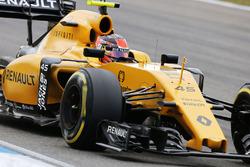 Esteban Ocon, Renault Sport F1 Team R16, Testfahrer
