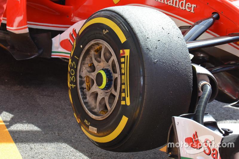 Ferrari SF16-H: Vorderachse