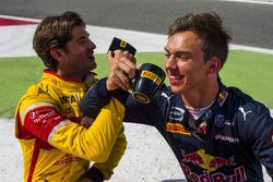 Antonio Giovinazzi, PREMA Racing and Pierre Gasly, PREMA Racing