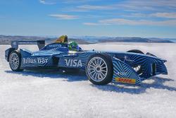Lucas di Grassi pilota F-E no Ártico
