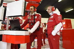 Ferrari engineer at work