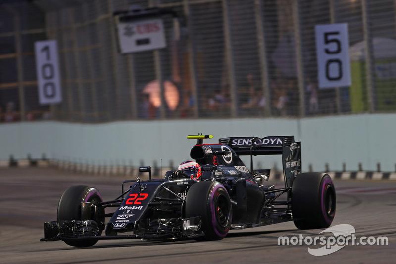 12: Jenson Button, McLaren Honda