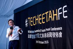 Apresentação TECHEETAH Formula E Team
