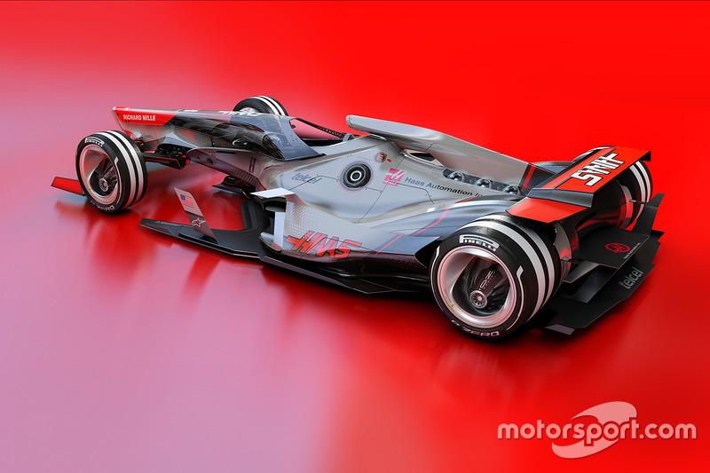 哈斯F1车队2030年幻想设计