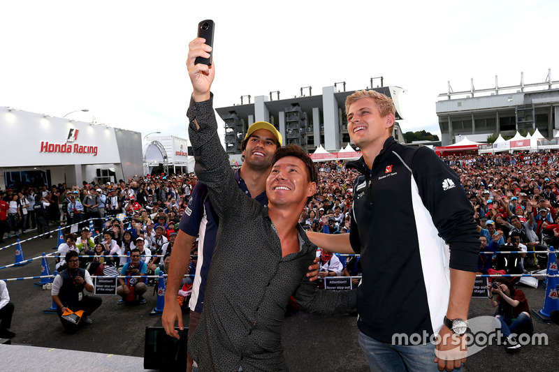 Felipe Nasr, Kamui Kobayashi, Marcus Ericsson
