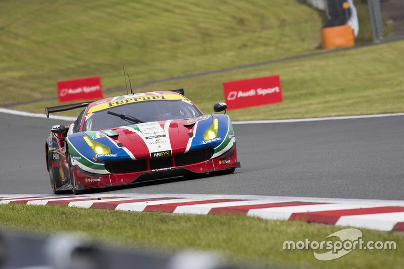 4. LMGTE Pro: #71 Ferrari 488 GTE: Davide Rigon, Sam Bird