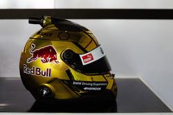 Besonderes Helmdesign für Martin Tomczyk, BMW Team Schnitzer