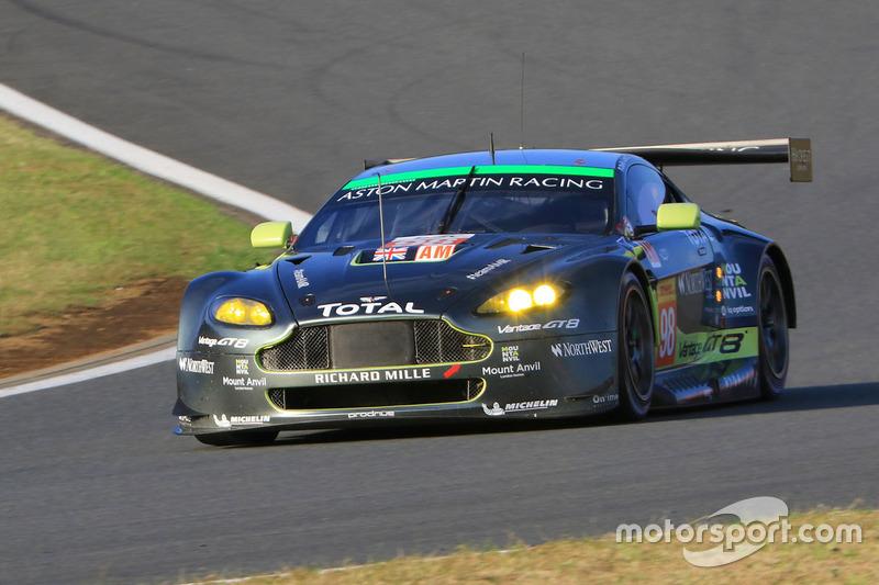 1. LMGTE Am: #98 Aston Martin Vantage GTE: Paul Dalla Lana, Pedro Lamy, Mathias Lauda