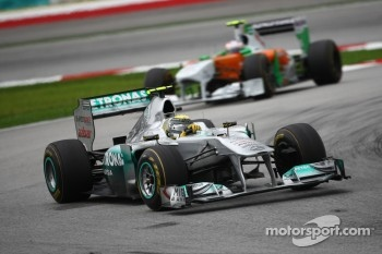 12th place for Nico Rosberg