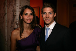 Edoardo Mortara, Audi Sport Team Rosberg, Audi A4 DTM with his girlfriend