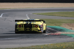 Still resisting, Mike Hezemans' #11 Exim Bank Team China Corvette