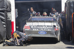 Damaged car of Matt Kenseth, Roush Fenway Racing Ford