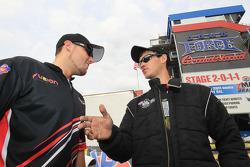 Top Sportsman driver Ryan Ondrejko and Pro Stock rookie Buddy Perkinson