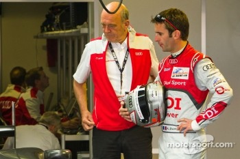 Dr. Wolfgang Ullrich and Romain Dumas