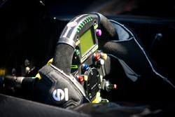 #055 Level 5 Motorsports Lola Honda steering wheel