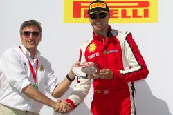458 podium: third place Cooper MacNeil