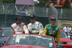Podium finishers from the Atlantic Race
