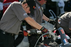 CTE Racing HVM crew members at work