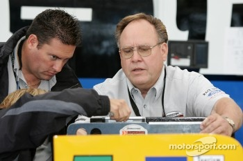 Champ Car officials at work